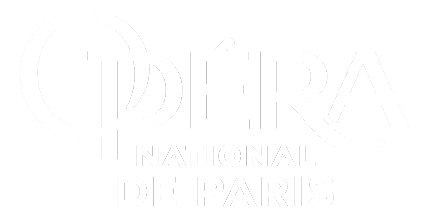 Logo blanc de l'Opéra National de Paris